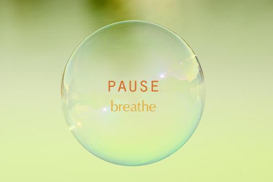 Pause-Breathe